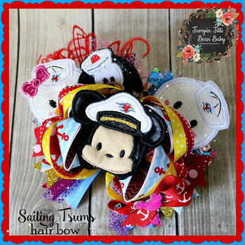 Cruise Tsum Tsum Applique Set