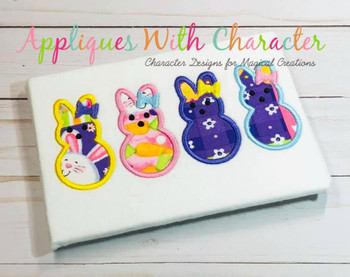 All My Peeps Applique Design