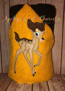 Bambie Deer Full Body Applique Design