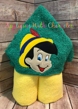 Pinnochio Peeker Applique Design