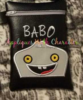 Ugly Doll Babo Peeker Applique Design
