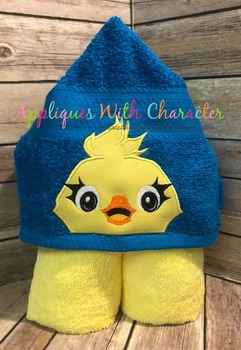 Toy Story Ducky Peeker Applique Design