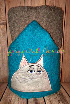 Pets Chloey Peeker Applique Design