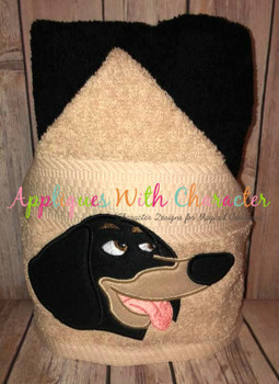 Pets Buddy Peeker Applique Design