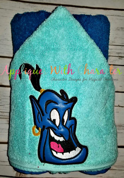 Aladdin Genie Peeker Applique Design
