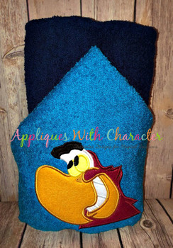 Aladdine Parrot Peeker Applique Design