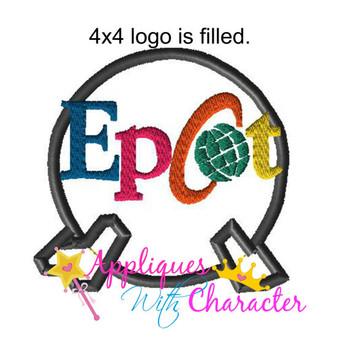 Epcot Ball  Applique Design