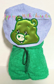 Care Bear Peeker Applique Design
