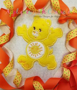 Funshine Care Bear Full Body Applique Design