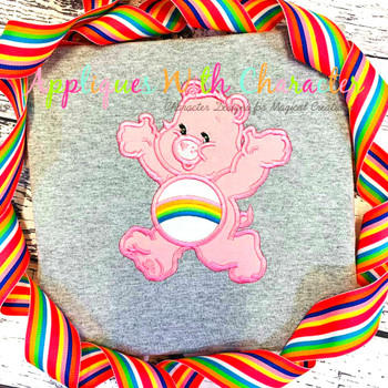 Cheery Care Bear Full Body Applique Design