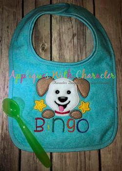Bingo Name-O Applique Nursery Rhyme Design