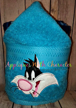 Sylvester the Cat Peeker Applique Design
