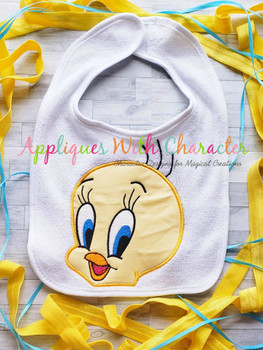 Tweety Bird Peeker Applique Design