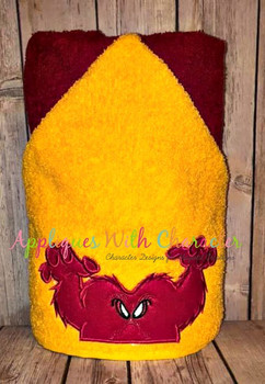 Gossamer Full Face Applique Design