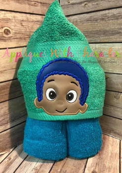 Bubble Boy Gobi Peeker Applique Design