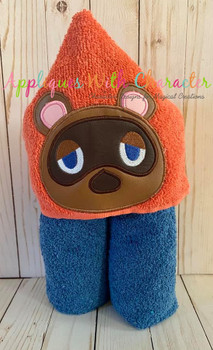 Tom Raccoon Applique Design