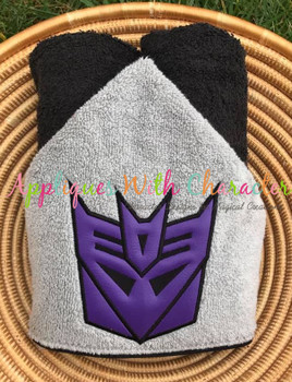Transformer Decepticon Applique Design