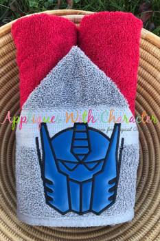 Transformer Optimus Applique Design