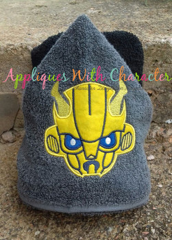 Transformer Bumblebee Applique Design