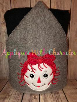 Rag Doll Ann Applique Design