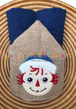 Rag Doll Andy Applique Design
