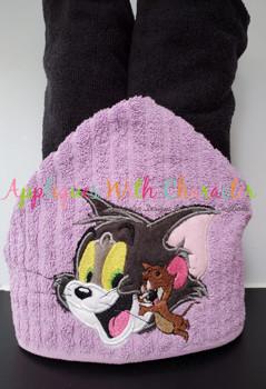 Tom and Jerry Applique Design