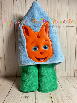 Kip Wallaby Peeker Applique Design