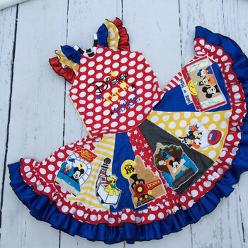 Disney Thrill Junkie Saying Applique Design