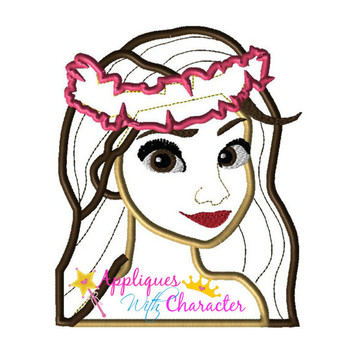 Island Girl Applique Design