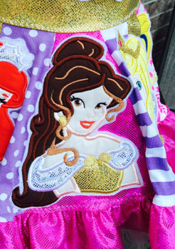 Beauty Bella Applique Design