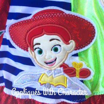 Toy Story Jessie Toy Applique Design