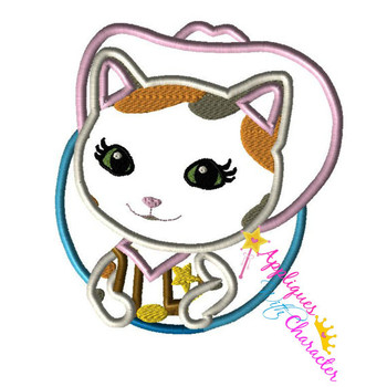 Sheriff Cally  Applique Design