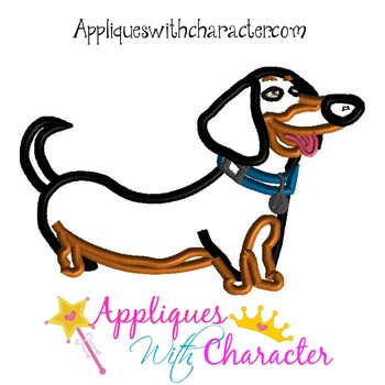 Pets Buddy Applique Design