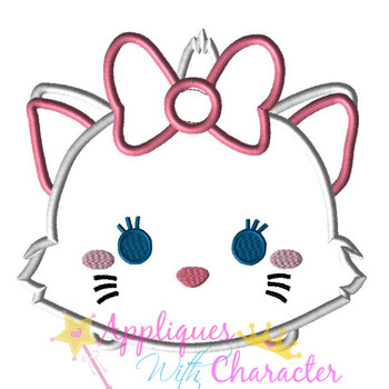Marie Cat Tsum Tsum Applique Design