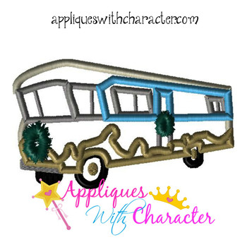 Christmas Vacation RV Applique Design