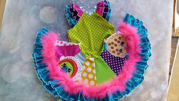 Shopikins Rainbow Bite Applique Design