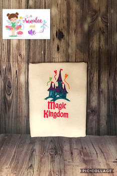 Magic Kingdom Castle Applique Design