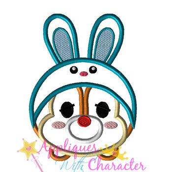 Dale Easter Bunny Tsum Tsum Applique Design
