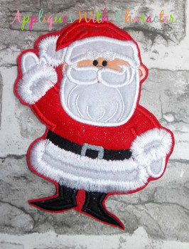 Rudy Santa Applique Design