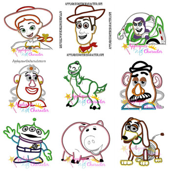 Toy Story Applique Design Set