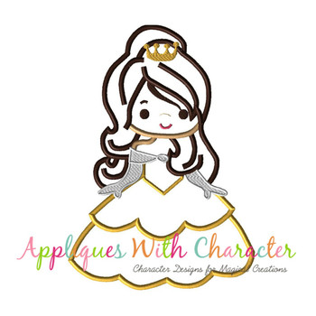 Beauty Bella Cutie Applique Design