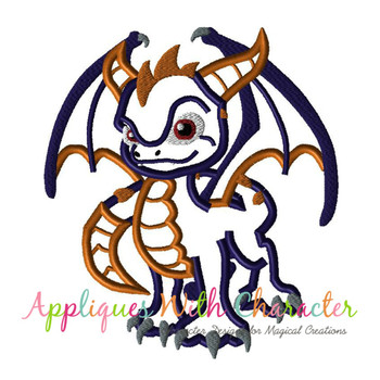 Skye Spyro Dragon Applique Design