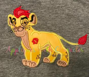 Lion Guard Inspired Applique Design