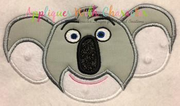 Sing Buster Moon Applique Design