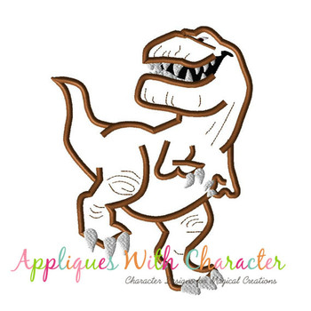 Butch Good Dinosaur Applique Design