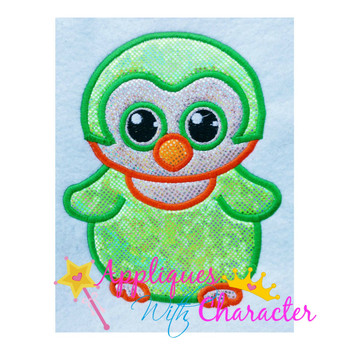 Beanie Owl Applique Design
