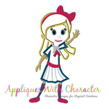 Goldie  Applique Design