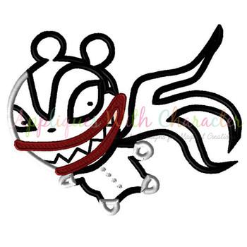 Nightmare Before Christmas Teddy Bear Applique Design