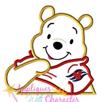 Honey Bear Cruise Applique Design