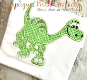 Good Dinosaur Applique Design